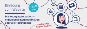 Veranstaltung - AIC Group – Webinar zum Thema Marketing Automation