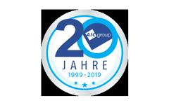 Siegel von AIC Group – 20 Jahre AIC Group 1999-2019