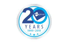 AIC Group Seal - 20 years AIC Group 1999-2019