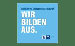 Siegel der IHK Lüneburg – Wir bilden aus