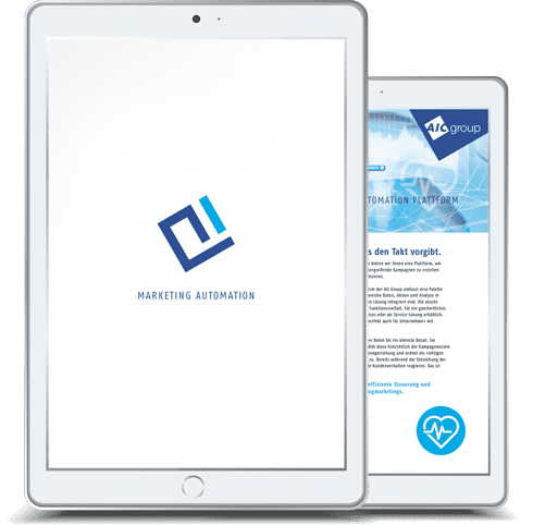 Tablet-TwoPager-Motiv Marketing Automation - AIC Group